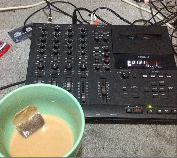 tea nd music, via Moses Sumney