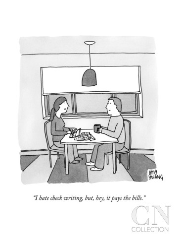 amy-hwang-i-hate-check-writing-but-hey-it-pays-the-bills-new-yorker-cartoon
