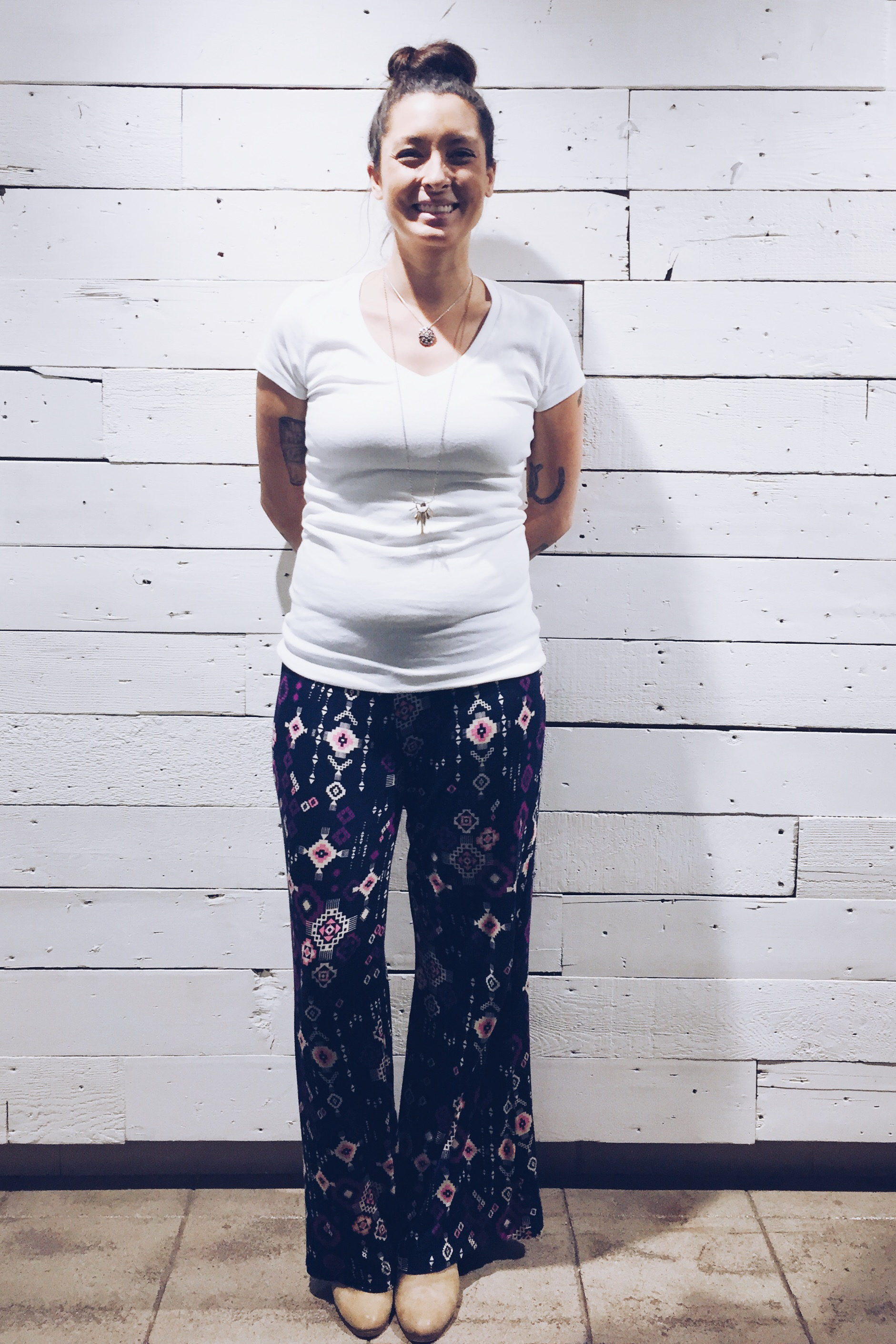 Alie Jepson and her 'Baby Bump'