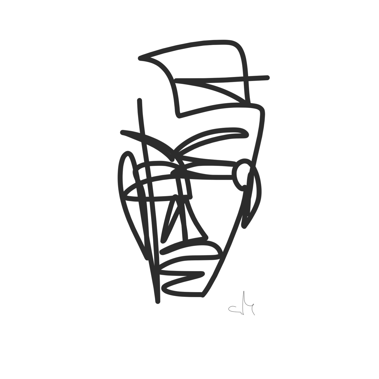 Coffeetographer_blind_contour_art_emily_king_switch_byimm